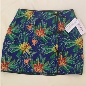 Paradise Jacquard Multi Kato Mini Skirt